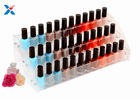 Nail Polish Counter Acrylic Display Rack Showcase Multi Tiered Good Chemical Resisdence