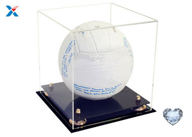 Multi Functional Acrylic Packaging Box , Acrylic Display Box For Basketball / Soccer