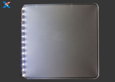 Clear Acrylic Light Guide Panel / LED Acrylic Light Panels For Outdoor Display Box