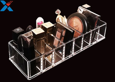 Clear Acrylic Makeup Organiser Display Box For Blush / Powder Foundation
