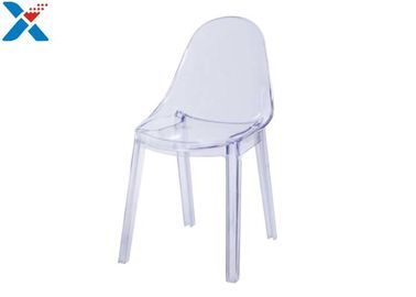 China Fashion Acrylic Office Chair / Clear Acrylic Desk Chair For Nordic Office Room factory
