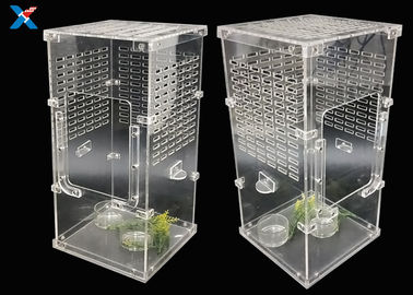 Transparent Acrylic Modern Furniture Pet Breeding Box Plexiglass Reptile Cages